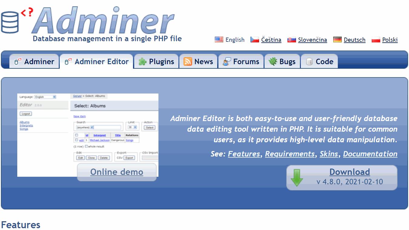 adminer-banner